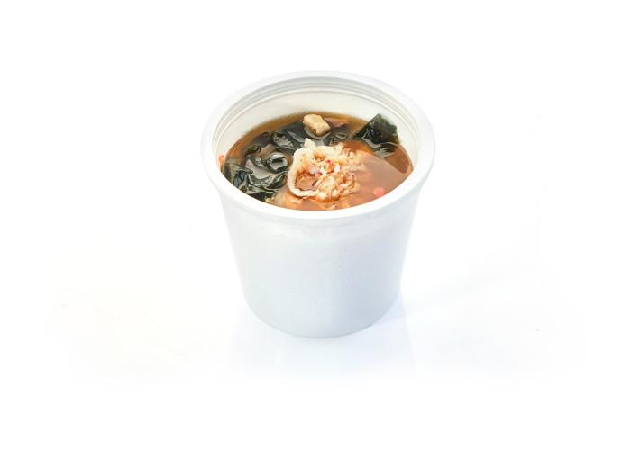 О-21 Мисо суп с крабом