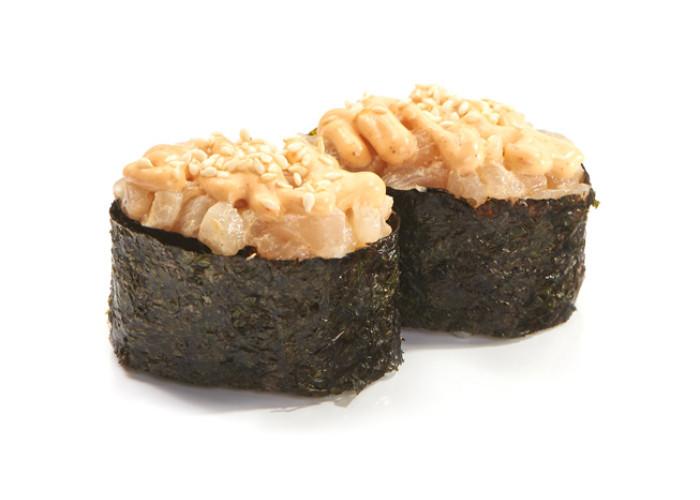 Гребешок спайс суши 2шт