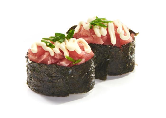 Негиторо тунец суши 2шт