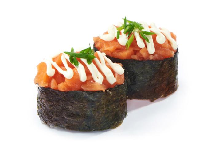 Негиторо семга суши 2шт