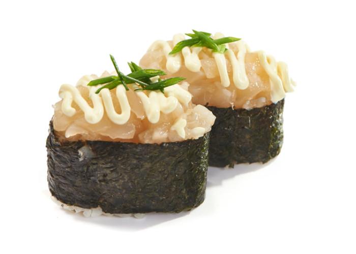 Негиторо гребешок суши 2шт