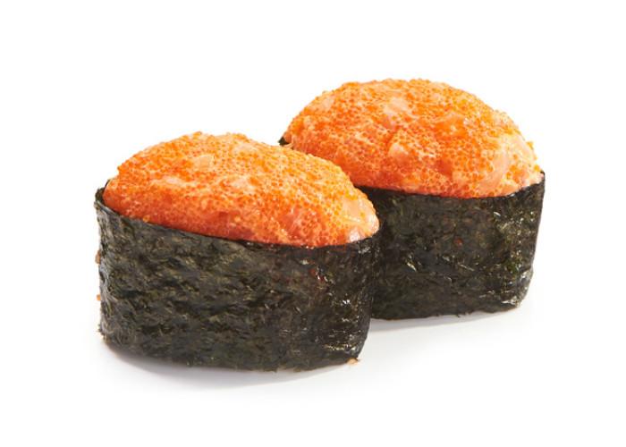 Гребешок тобико суши 2шт