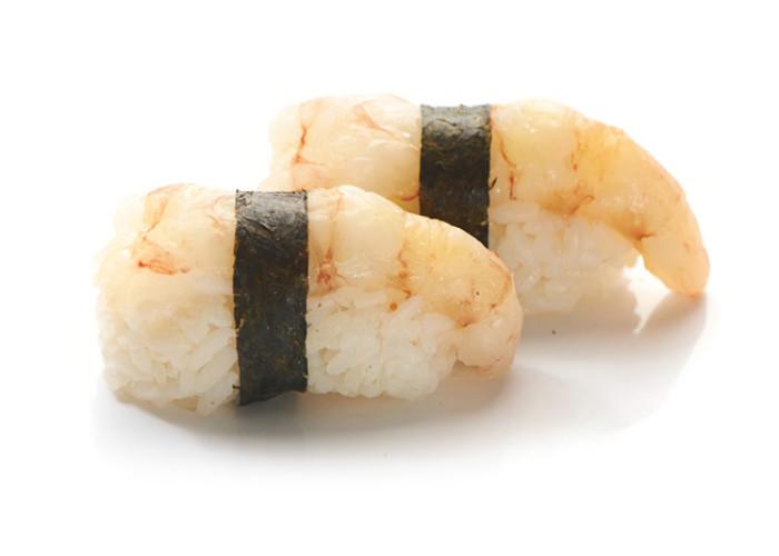 Креветка сладкая суши 2шт