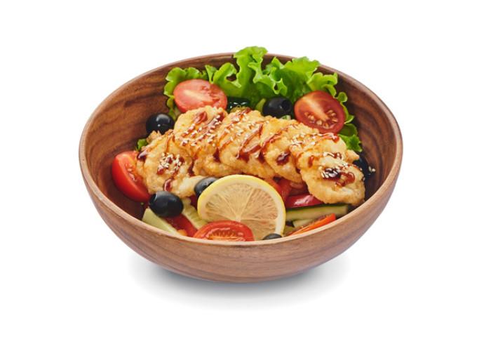 Гребешок салат